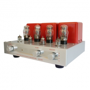 Meixing MingDa MC34-B19 integrated Amplifier 6P3×4 HIFI vacuum tube Amp With remote