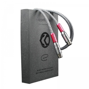 CopperColour CC WHISPER OCC XLR Audiophile Audio cable interconect Balance Cord Pair