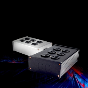 CopperColour CC HE Series HE-S/HE-G/HE-BE Power Socket HiFi Audio with 6 outlet US Plug