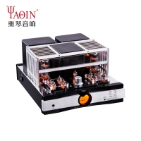 YAQIN MS-20B Hi-end Vacuum Tube Amplifier UL/TR Push-pull Power Amplifier Bluetooth Remote