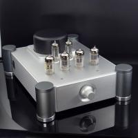 BRZHIFI 12AX7 12AU7 Vacuum Tube Preamp Home Stereo Audio Preamplifier Inspired by Shigeru Wada