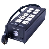 Bada LB-5500 Reference Version HIFI Audiophile Power Filter Plant Socket Outlet & Audiophile Power Cable US Plug