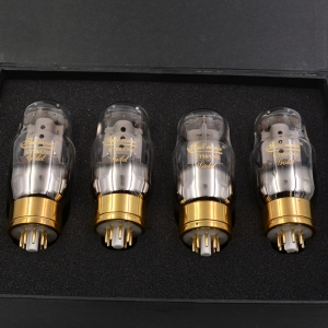 Full Music GOLD KT88/CNE Vacuum Tube Valve Preamplifier Preamp Matched Quad (4)