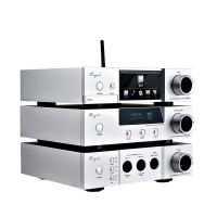 Cayin/iDAP-6/iDAC-6 MKII/iHA-6 Vacuum tube DAC & Headphone amplifier & DSD Digital Player set