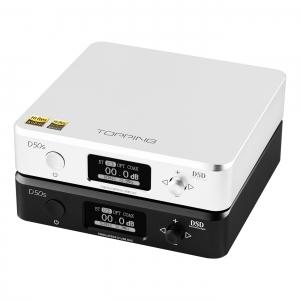 TOPPING D50s ES9038Q2M*2 DAC Bluetooth 5.0 LDAC D50 DSD512 32Bit/768kHz Hi-Res Audio HIFI Decoder