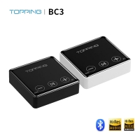 TOPPING BC3 ES9018Q2C Hi-Res Audio Wireless Bluetooth LDAC Receiver with Headphone/OPT/Line Output
