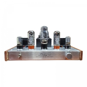 Laochen EL34 Bluetooth 5.0 Tube Amplifier Class A handmade Single-ended lamp Silver Amp OCEL34S OldChen