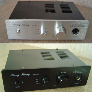 XiangSheng DAC-01B USB SPDIF DAC HIFI Coaxial/optical 24bit/196khz XMOS Digital Decoder Headphone Output