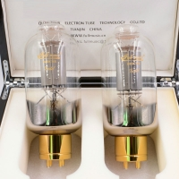 Full Music Premium 845/CNE GOLD Vacuum Tube HiFi electronic valve Matched Pair