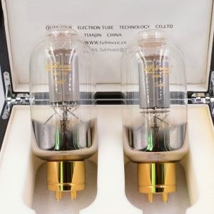 Full Music Premium 845/CNE GOLD Vacuum Tube HiFi electronic valve Matched Pair