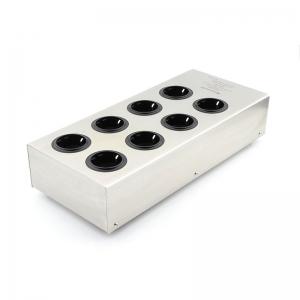 Monosaudio E800 HiFi Power Filter Plant Schuko/British/US Socket 8Ways AC Power Conditioner Audiophile Power Purifier