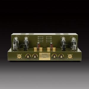 Raphaelite CP150 KT150*4 Hi-end vaccum tube integrated Amplifier Push-Pull Power Amplifier 120W*2 Output power
