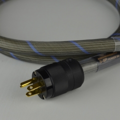 Bada S-8P Audio Power Cable Siver/SCC US/EUR Schuko plug 1.8M