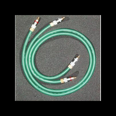 BADA High fidelity Audio Hifi RCA Cord Cable Pair 5 star OCC 1M
