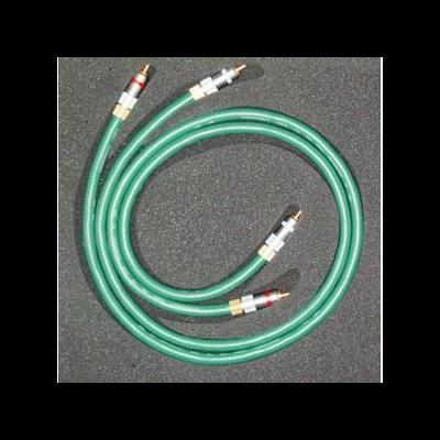 BADA High fidelity Audio Hifi RCA Cord Cable Pair 5 star OCC 1M