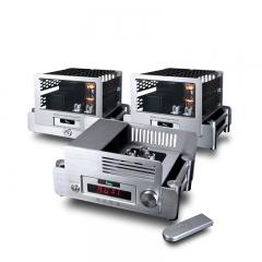 YAQIN MS-845 Mono Block Power Amplifier + Preamp pre-amplifier