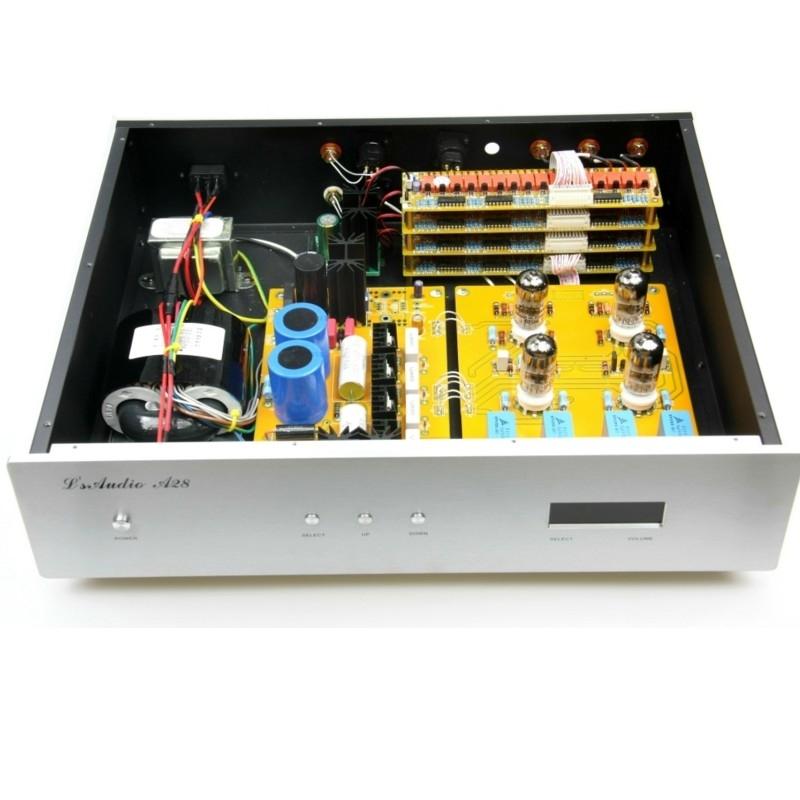 Lite Audio LS69 6922*4 Tube Preamp Full Balanced XLR With Remote