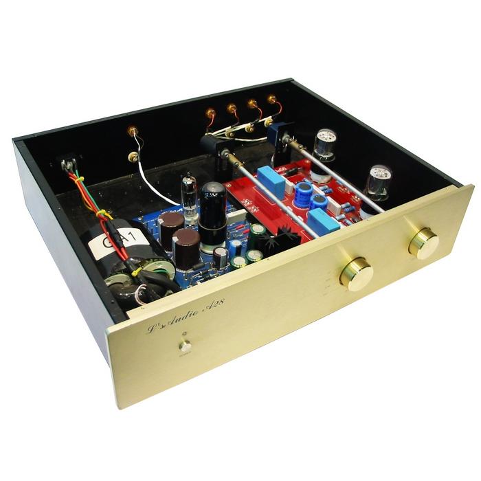 LITE LS58 6SN7*2 Hifi High-Fidelity Tube Amp Pre-Amplifier Hifi Power Amplifier