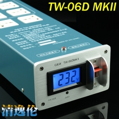 G&W TW-06D MKII Hifi Audio Pure AC Power Filter Socket
