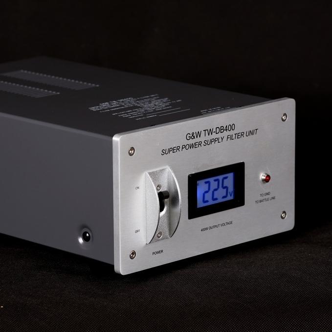 G&W TW-DB400 Hi-Fi Power Supply Filter Super purifier Socket New